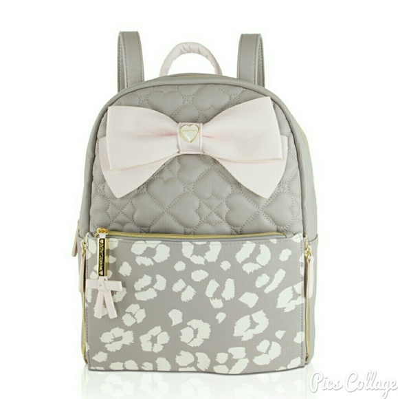 Betsey Johnson Bags | Zip Off Pouch Backpack